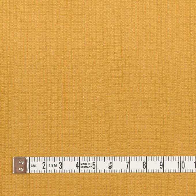 リネン&コットン×無地(マスタード)×かわり織ワッシャー_全4色 イメージ4