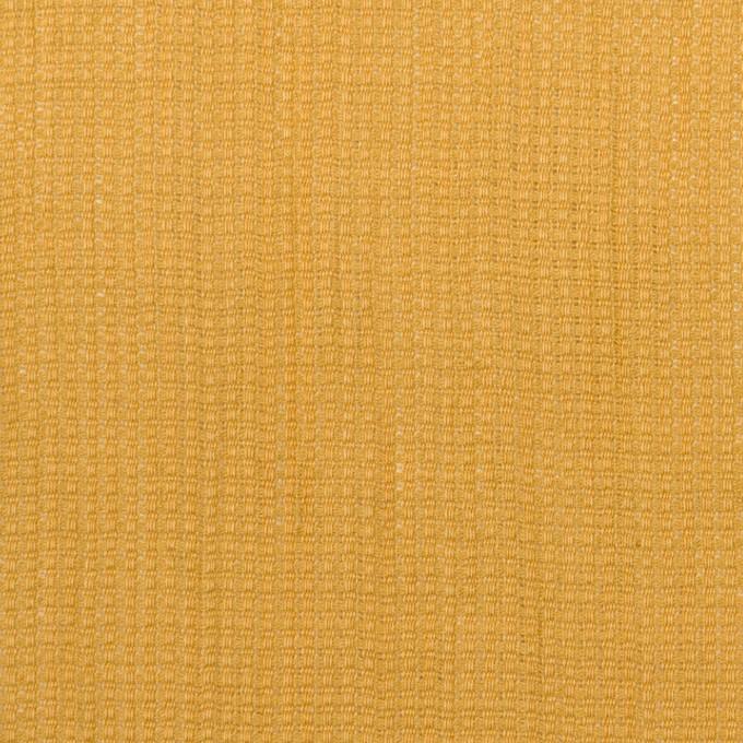 リネン&コットン×無地(マスタード)×かわり織ワッシャー_全4色 イメージ1