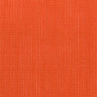 リネン&コットン×無地(バレンシアオレンジ)×かわり織ワッシャー_全4色