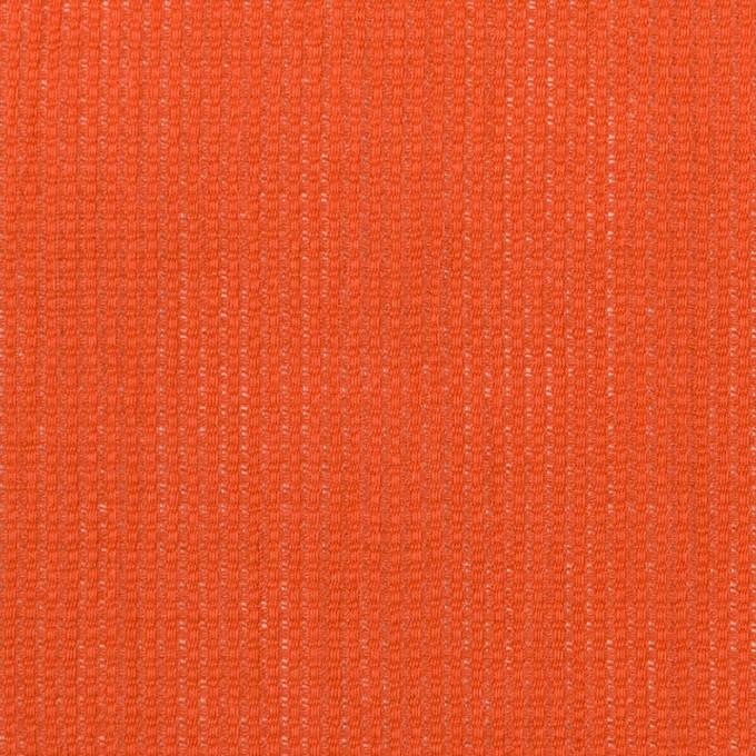リネン&コットン×無地(バレンシアオレンジ)×かわり織ワッシャー_全4色 イメージ1