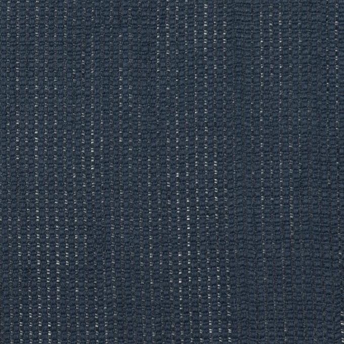 リネン&コットン×無地(アッシュネイビー)×かわり織ワッシャー_全4色 イメージ1
