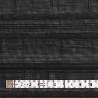 コットン&ナイロン×ボーダー(ブラック)×オーガンジー・ジャガード サムネイル4