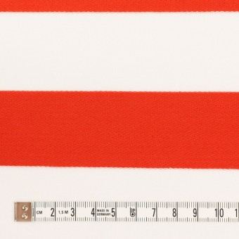 コットン×ボーダー(バーミリオン)×Wニット_全3色 サムネイル4