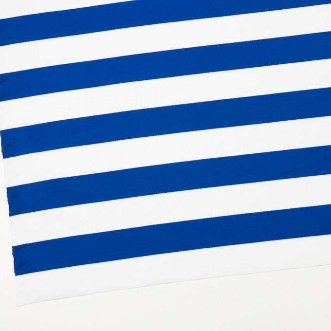 コットン×ボーダー(ブルー)×Wニット_全3色 イメージ2