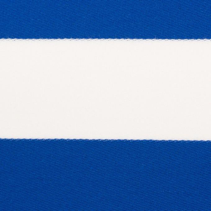 コットン×ボーダー(ブルー)×Wニット_全3色 イメージ1