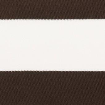 コットン×ボーダー(カーキブラウン)×Wニット_全3色
