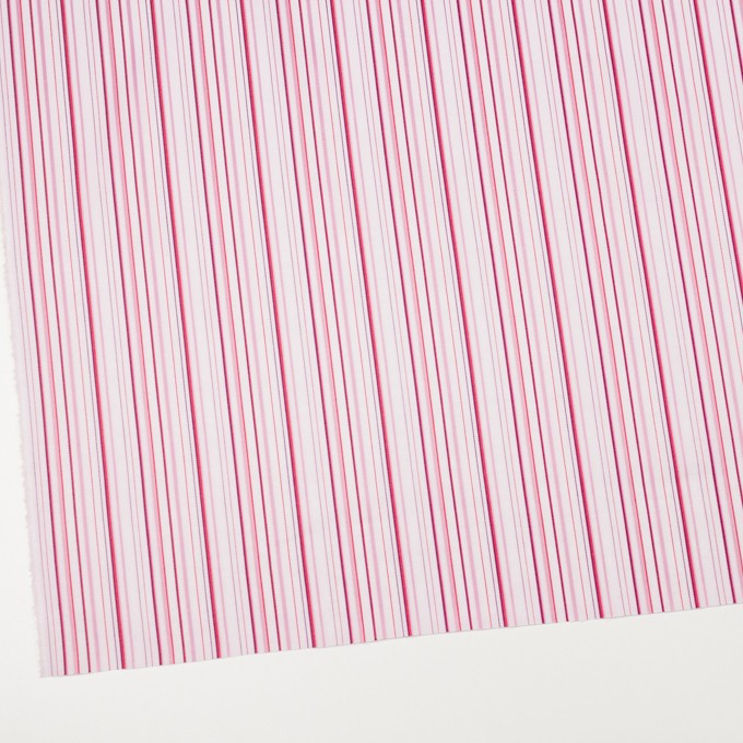コットン×ストライプ(ピンク)×ブロードジャガード イメージ2