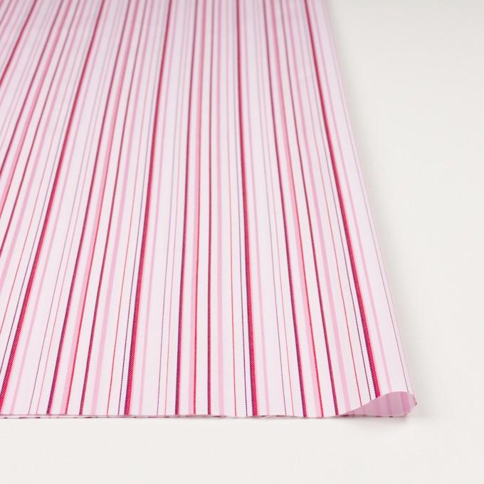 コットン×ストライプ(ピンク)×ブロードジャガード イメージ3