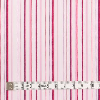 コットン×ストライプ(ピンク)×ブロードジャガード サムネイル4