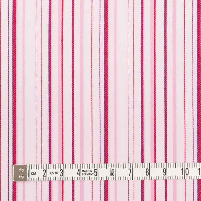 コットン×ストライプ(ピンク)×ブロードジャガード イメージ4