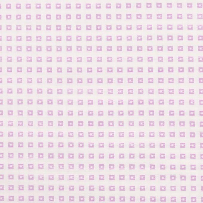 コットン×スクエア(モーブ)×ブロードドビー イメージ1