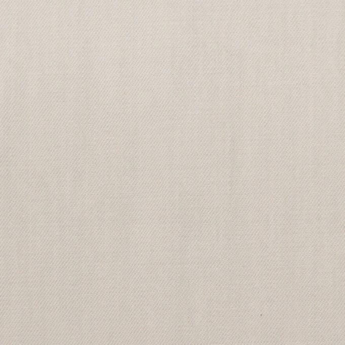 コットン×無地(オイスターグレー)×サージワッシャー_イタリア製 イメージ1
