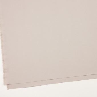 コットン&ポリアミド混×無地(オイスター)×二重織ストレッチ_イタリア製 サムネイル2