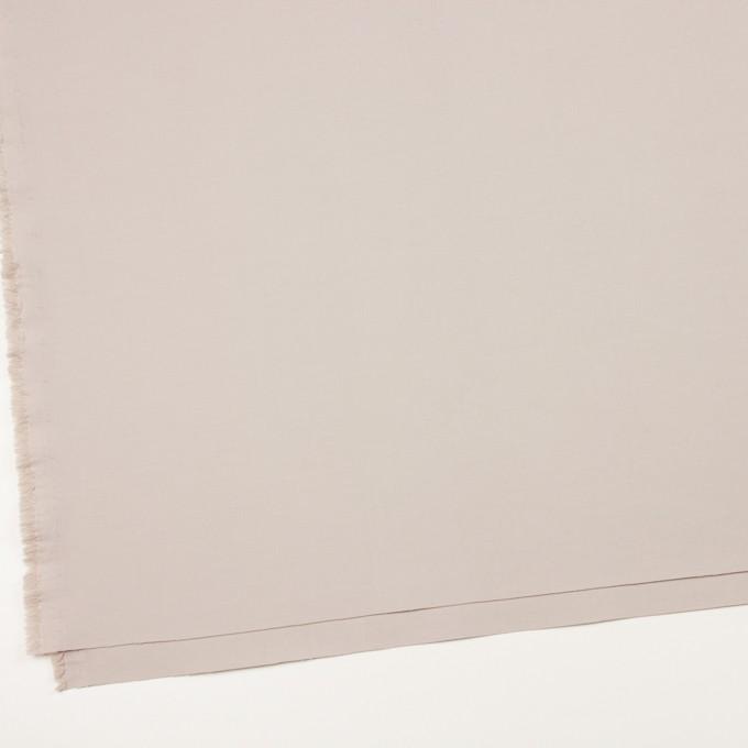 コットン&ポリアミド混×無地(オイスター)×二重織ストレッチ_イタリア製 イメージ2