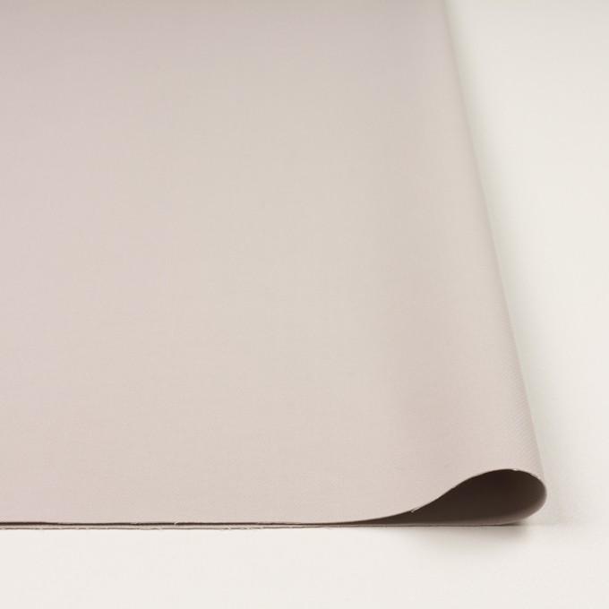 コットン&ポリアミド混×無地(オイスター)×二重織ストレッチ_イタリア製 イメージ3