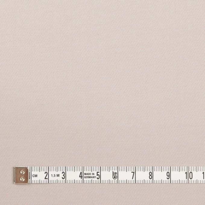 コットン&ポリアミド混×無地(オイスター)×二重織ストレッチ_イタリア製 イメージ4