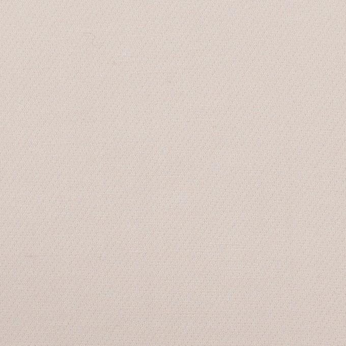 コットン&ポリアミド混×無地(オイスター)×二重織ストレッチ_イタリア製 イメージ1