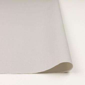 コットン×無地(ライトグレー)×二重織_イタリア製 サムネイル3