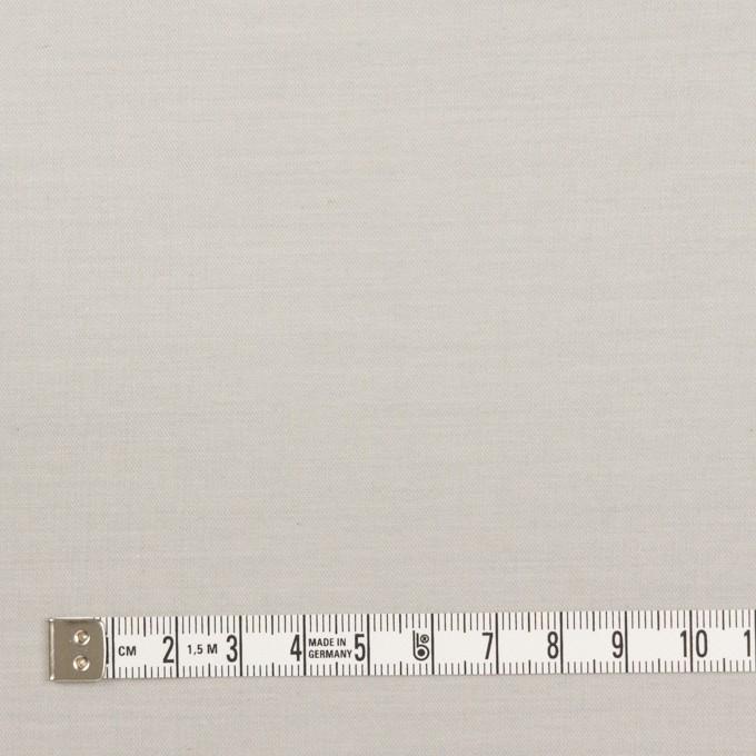 コットン×無地(ライトグレー)×二重織_イタリア製 イメージ4
