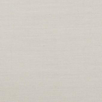 コットン×無地(ライトグレー)×二重織_イタリア製