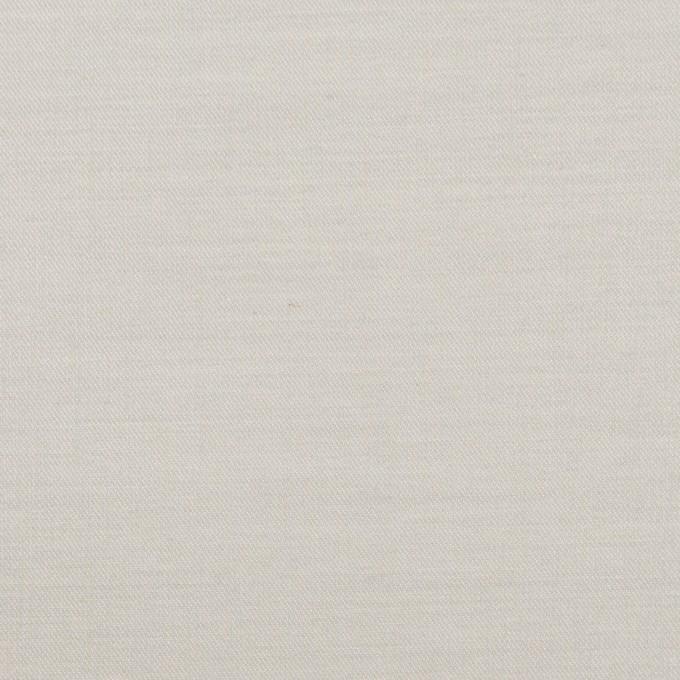 コットン×無地(ライトグレー)×二重織_イタリア製 イメージ1