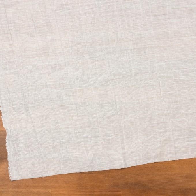 コットン&ナイロン×ボーダー(オフホワイト)×ボイルワッシャー_全2色 イメージ2