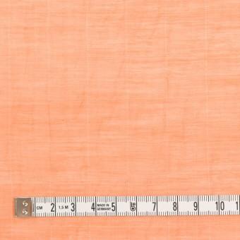コットン&シルク混×チェック(オレンジ)×オーガンジー・ワッシャー_全2色 サムネイル4