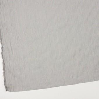 コットン&シルク混×チェック(シルバーグレー&クリームイエロー)×オーガンジー・ワッシャー_全4色 サムネイル2