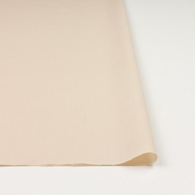 コットン×無地(ライトベージュ)×ボイル_全2色 イメージ3