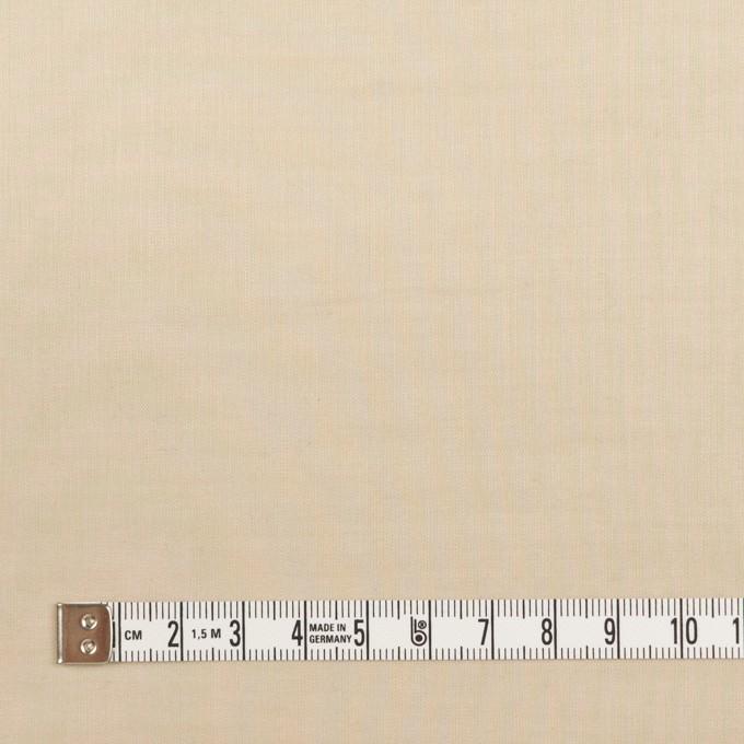 コットン&シルク×無地(カーキベージュ)×ボイル_全2色 イメージ4