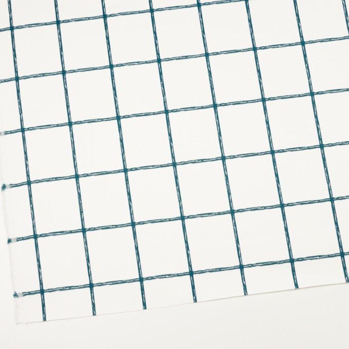コットン&ポリウレタン×チェック(バルビゾン)×サテンストレッチ イメージ2