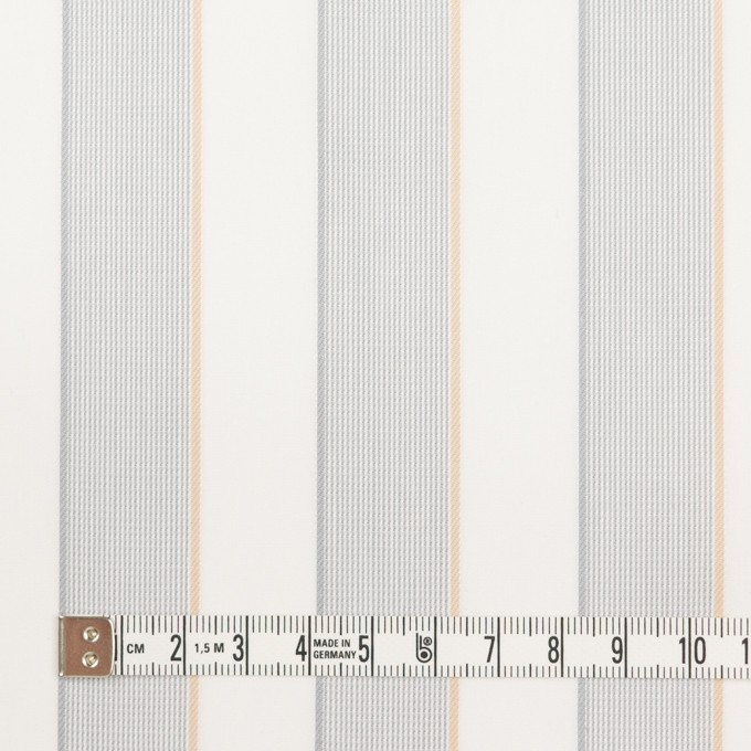 コットン×ストライプ(ライトグレー&ベージュ)×ブロードジャガード イメージ4