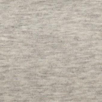 コットン&モダール×無地(杢グレー)×W天竺ニット サムネイル1