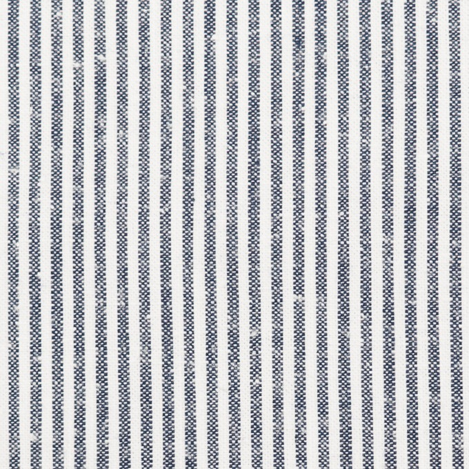 コットン×ストライプ(チャコール)×ソフトキャンバス イメージ1