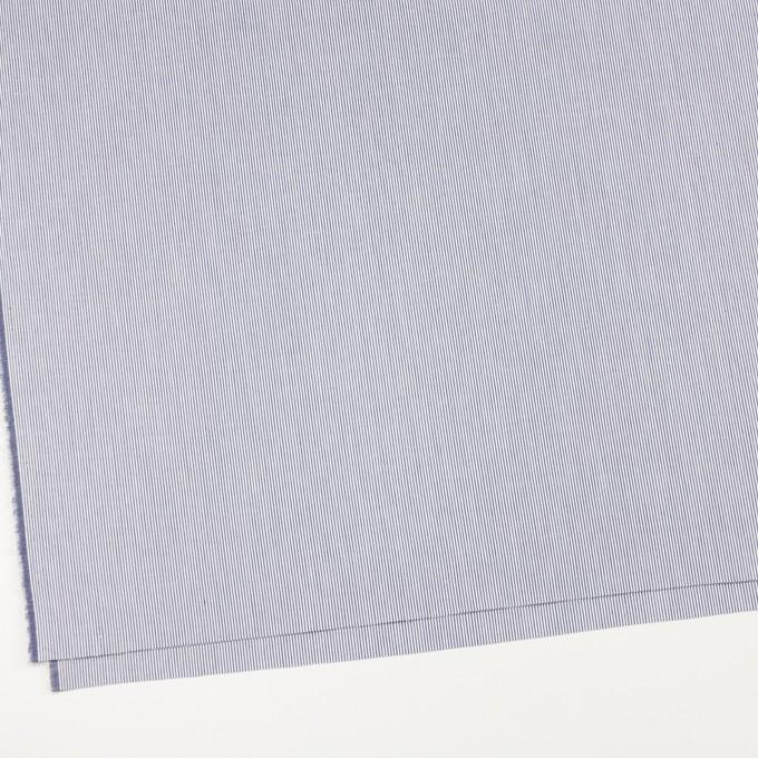 コットン×ストライプ(ネイビー)×コードレーン イメージ2