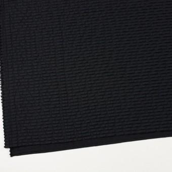 ナイロン&シルク×ボーダー(ブラック)×ピンタックタフタ_全2色 サムネイル2