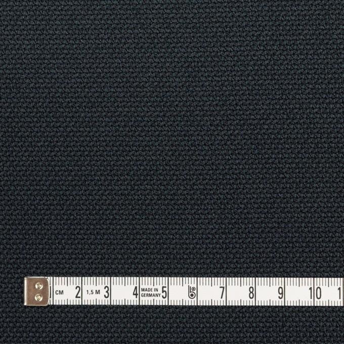 ポリエステル×無地(アッシュネイビー)×斜子織 イメージ4