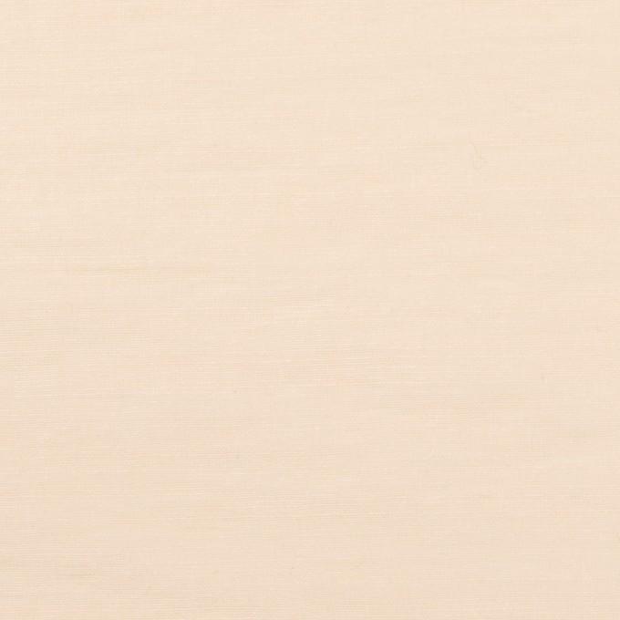コットン&ナイロン×無地(キナリ)×オーガンジー・ワッシャー イメージ1