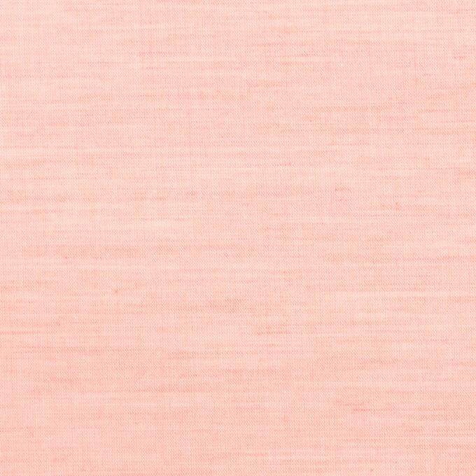 コットン×無地(ピーチ)×シャンブレー_全3色 イメージ1