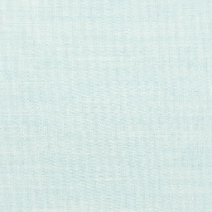 コットン×無地(シャーベットグリーン)×シャンブレー_全3色 イメージ1