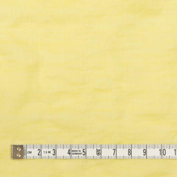 コットン&ポリウレタン×無地(レモンイエロー)×シャンブレー・シャーリング イメージ4
