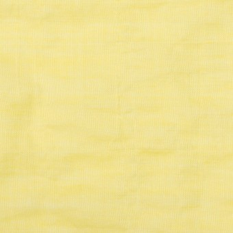 コットン&ポリウレタン×無地(レモンイエロー)×シャンブレー・シャーリング