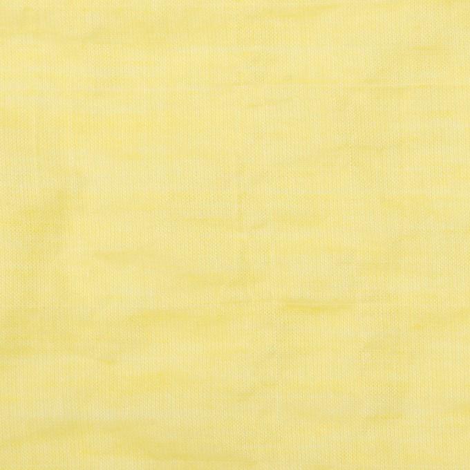 コットン&ポリウレタン×無地(レモンイエロー)×シャンブレー・シャーリング イメージ1