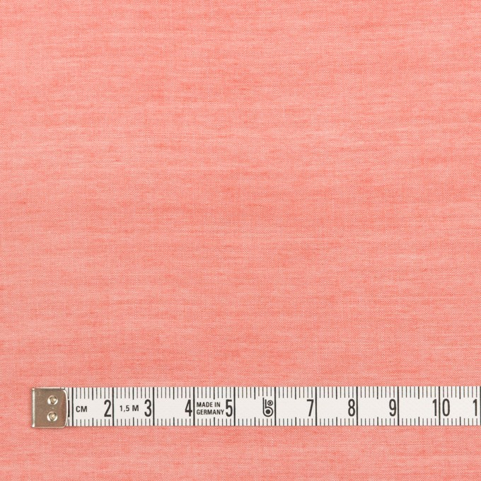 コットン&レーヨン×無地(トマト)×シャンブレー イメージ4