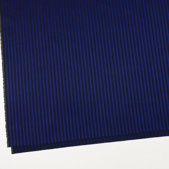 コットン×ストライプ(マリンブルー&ブラック)×ブロードジャガード サムネイル2