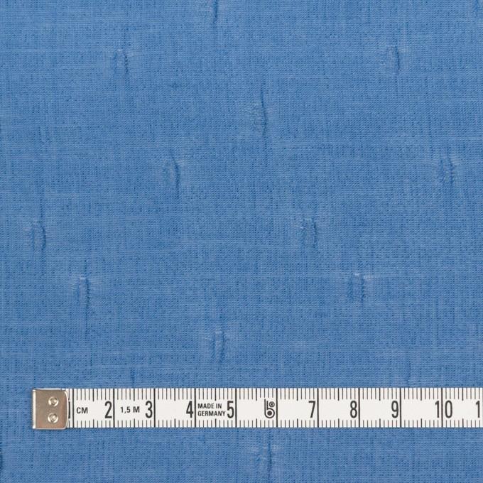 キュプラ&コットン×無地(ゼニスブルー)×ボイルジャガード_イタリア製 イメージ4