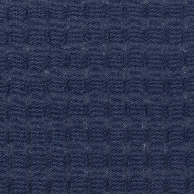 コットン×チェック(アッシュネイビー)×ガーゼ イメージ1