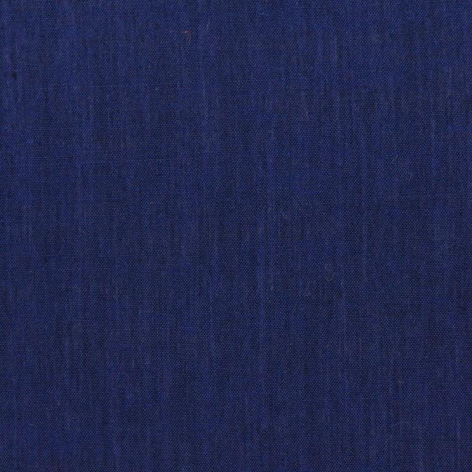 コットン&レーヨン×無地(ネイビー)×シャンブレー イメージ1