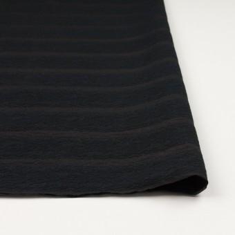 コットン&ナイロン×ボーダー(ブラック)×オーガンジー・ジャガード_全2色 サムネイル4