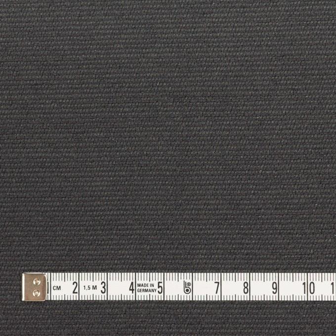 シルク&レーヨン混×無地(チャコール)×オーガンジー・ジャガード イメージ4
